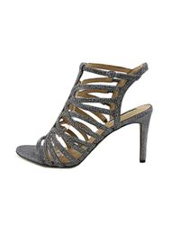 INC International Concepts - Gray Womens Gawdie Open Toe Ankle Strap Classic Pumps - Lyst