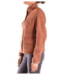 Brema - Women's Brown Wool Outerwear Jacket - Lyst