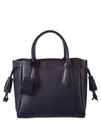 Longchamp - Blue Penelope Small Leather Tote - Lyst