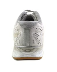 New Balance - Waris Women Round Toe Synthetic Gray Sneakers - Lyst