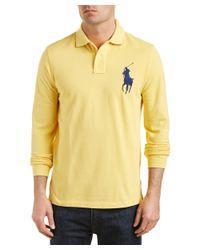 Ralph Lauren | Yellow Polo Custom Fit Polo Shirt for Men | Lyst