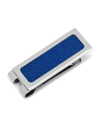 Ox and Bull Trading Co. - Stainless Steel Blue Carbon Fiber Inlaid Money Clip for Men - Lyst