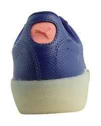 PUMA - Womens Blue Print Blueprint Fashion Shoes - Lyst
