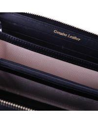 Twin Set - Women's Black Leather Wallet - Lyst