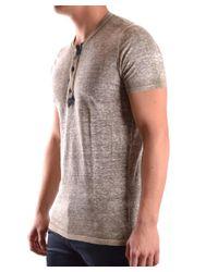 Avant Toi - Brown Men's Beige Linen T-shirt for Men - Lyst