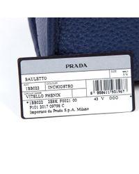 Prada - Blue Womens Handbag Vitello Phenix Inchiostro - Lyst