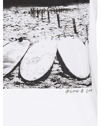 Bogner - White Printed T-shirt Cedric for Men - Lyst