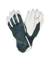 Bogner | Blue Ski Gloves Finja | Lyst