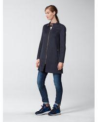 Bogner - Blue Short Coat Maela - Lyst