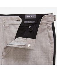 Bonobos - Gray Capstone Italian Wool Tuxedo Pant for Men - Lyst
