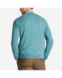 Bonobos - Blue Cotton Cashmere V-neck Sweater for Men - Lyst