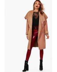 Boohoo - Multicolor Boutique Reversible Faux Fur Bonded Jacket - Lyst