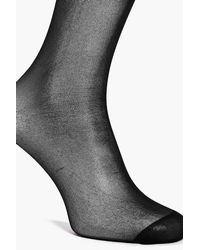 Boohoo - Black Hannah 2 Pack 20 Denier Tights - Lyst