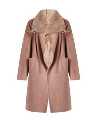 Boohoo - Multicolor Boutique Reversible Faux Fur Bonded Jacket - Lyst