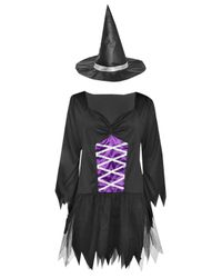 Boohoo - Multicolor Georgia Fancy Dress Witch Outfit - Lyst