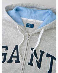 Gant - Multicolor O2. Outline Full Zip Hoodie for Men - Lyst