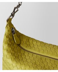Bottega Veneta - Green Chamomile Intrecciato Nappa Shoulder Bag - Lyst