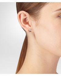 Bottega Veneta - Brown Earring - Lyst