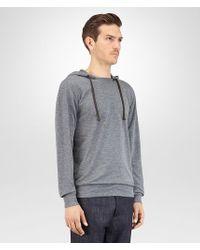 Bottega Veneta - Gray T Shirt In Grey Peacock Cotton Jersey for Men - Lyst