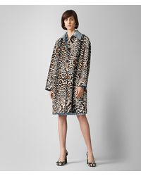 55f5eadac1f4 Bottega Veneta. Women's Coat In Hair Calf