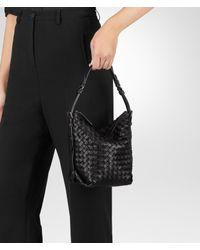 Bottega Veneta - Black Nero Intrecciato Nappa Small Osaka Bag - Lyst