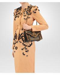 Bottega Veneta - Multicolor Oro Scuro Lizard City Knot Bag - Lyst