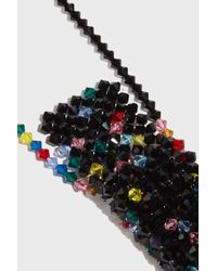 Missoni - Multicolor Crystal-embellished Mini Crossbody - Lyst