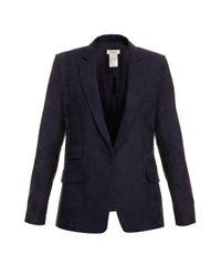 Paul & Joe | Blue Jacquard Navy Blazer | Lyst