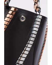 Proenza Schouler - Black Hex Leather Bucket Bag - Lyst