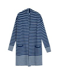 Splendid | Blue Striped Cardigan | Lyst