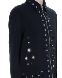 Proenza Schouler - Black Bonded Coat - Lyst