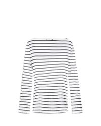 Alexander Wang - Multicolor Boatneck Top - Lyst