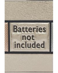 Anya Hindmarch - Metallic Imperial Batteries Clutch - Lyst