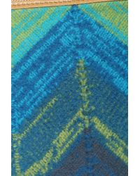 Missoni - Blue Large Wool Pochette - Lyst