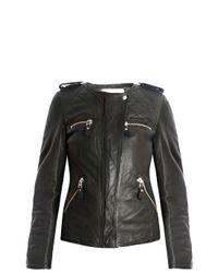 Étoile Isabel Marant - Black Leather Jacket - Lyst