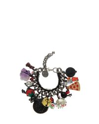 Venessa Arizaga - Black Baby Got Snacks Bracelet - Lyst