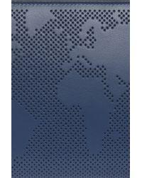 Smythson - Blue Atlas Travel Wallet - Lyst