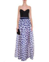Martin Grant - Multicolor Printed Skirt - Lyst