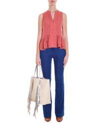 Elizabeth and James - Pink Zoe Top - Lyst