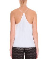 Tibi - White Silk Camisole - Lyst