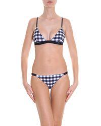 Solid & Striped - Black Morgan Bikini Top - Lyst
