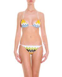 Missoni - Blue Lurex String Bikini - Lyst
