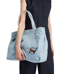Paul & Joe - Blue Felipe Tote Bag - Lyst