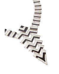 Missoni - Metallic Triangle Multi Necklace - Lyst