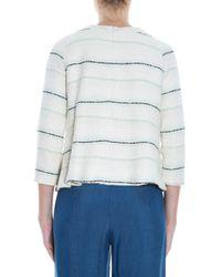 Paul & Joe - White Knit Sweater - Lyst