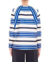 Paul & Joe - Paul And Joe Sister Deck Chair Blue Stripe Jacket - Lyst