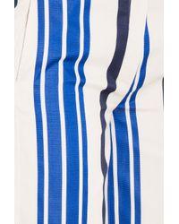 Paul & Joe - Blue Striped Culottes - Lyst