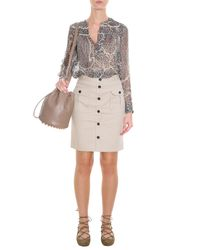 Paul & Joe - Natural Mogambo Skirt - Lyst