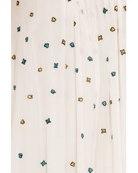Paul & Joe - White Embroidered Dress - Lyst