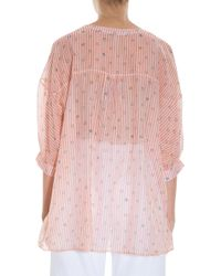 Paul & Joe - Pink Zenitude Top - Lyst